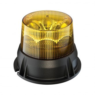 "J.W. Speaker® - 5"" 406 Series Low Profile Amber LED Beacon Light"