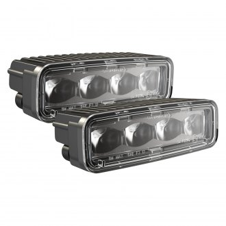 "J.W. Speaker® - 791 Series DOT/ECE 6""x2"" 12W Rectangular Fog Beam LED Lights"