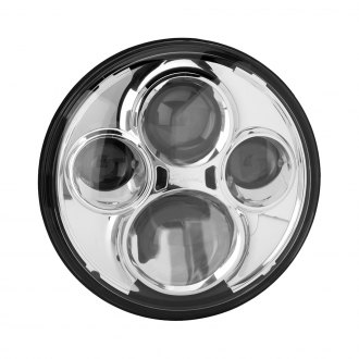 "J.W. Speaker® - 7"" Round Chrome High Beam Projector LED Headlight"