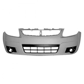 SZ1000135 Make Auto Parts Manufacturing Front Bumper Cover Primed Plastic With Fog Light Holes With Molding Holes For Suzuki SX4 2007 2008 2009 2010 2011 2012