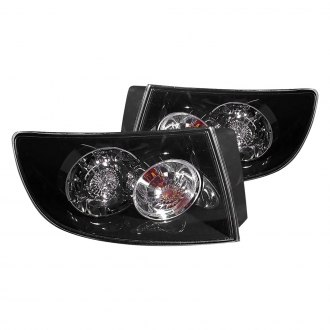 K-Metal® - Black LED Tail Lights