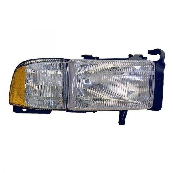 Dodge Replacement Headlights: Dodge Ram 1500 / 2500 / 3500 Without Sport