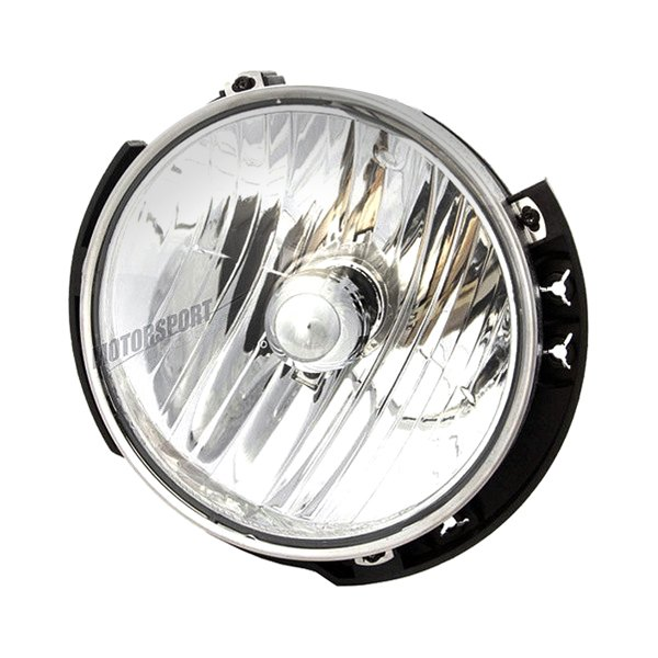 K metal jeep wrangler replacement quot round chrome