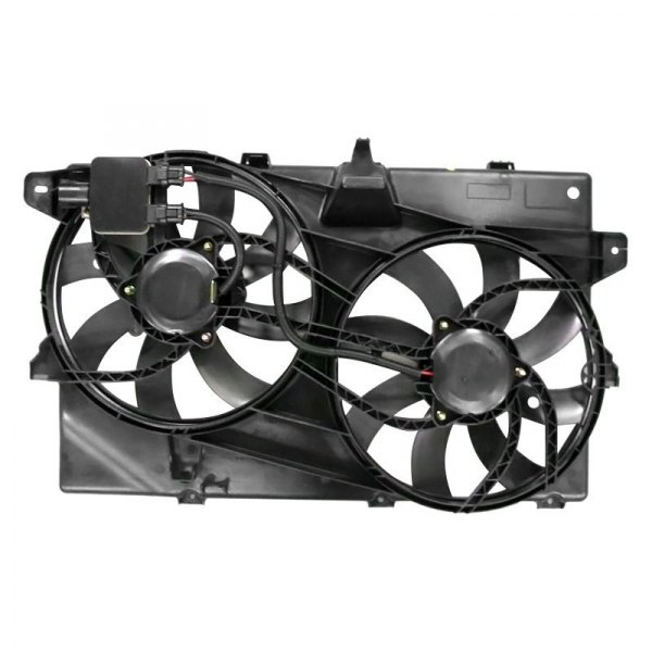 Replacement Motor Cooling Fans : K metal lincoln mkx  radiator fan assembly