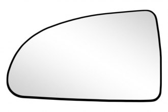 K Source® 88148 - Driver Side Side Mirror Glass with Backing Plate