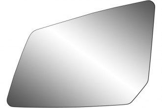 K Source® - Driver Side Side Mirror Glass with Backing Plate