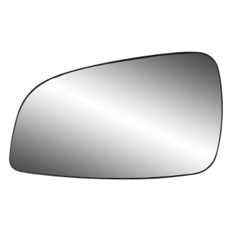 K Source® - Driver Side Mirror Glass with Backing Plate (Non-Heated)