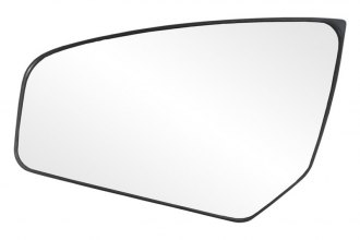 K Source® 88234 - Driver Side Side Mirror Glass with Backing Plate