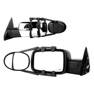 K Source® - Driver and Passenger Side Dual Lens Towing Mirrors