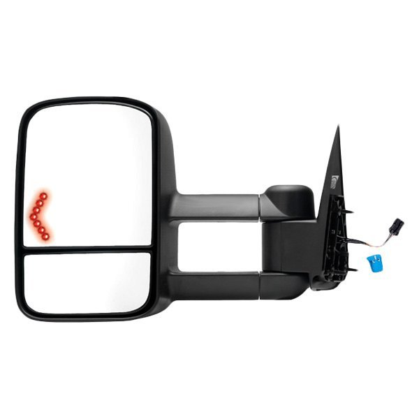 K source 62076g driver side power towing mirror heated for Mirror source
