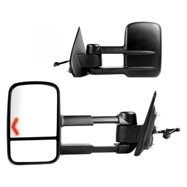 k source chevy silverado 2015 replacement towing mirror. Black Bedroom Furniture Sets. Home Design Ideas