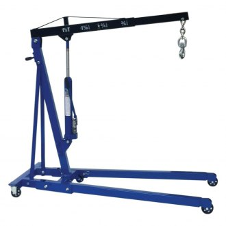 K-Tool International® - 1.5 Ton Foldable Engine Crane with Fast Rise