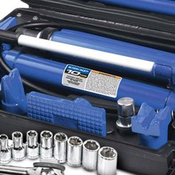 K-Tool International® - Drive Point Metric Chrome Socket Set