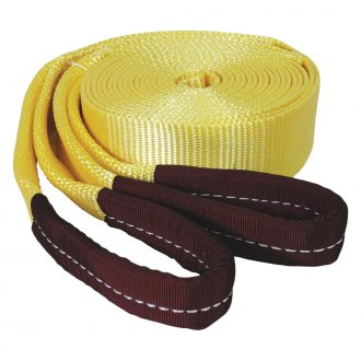 "K-Tool International® - 2"" x 20' 15000 lbs.Tow Strap with Looped Ends"