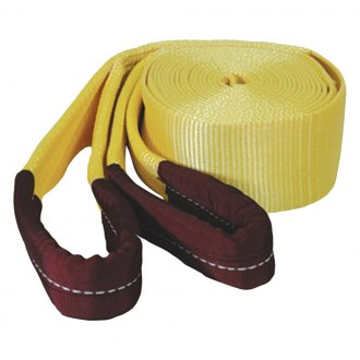"K-Tool International® - 3"" x 30' 30000 lbs.Tow Strap with Looped Ends"