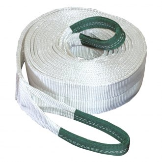 "K-Tool International® - 4"" x 30' 40000 lbs.Tow Strap with Looped Ends"