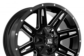 K2 OFFROAD® - DOME Gloss Black with Milled Accents