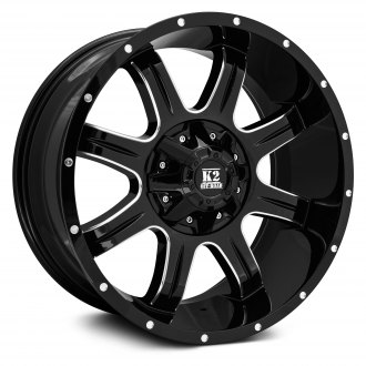K2 OFFROAD® - EVEREST Gloss Black with Milled Accents