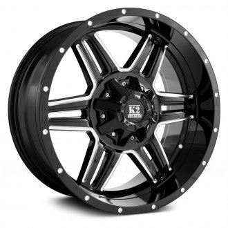 K2 OFFROAD® - SPHINX Gloss Black with Milled Accents