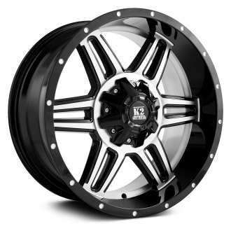 K2 OFFROAD® - SPHINX Gloss Black with Machined Face and Lip