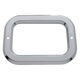 "Kaper II ® - 4"" Square Light Bezel without Visor"