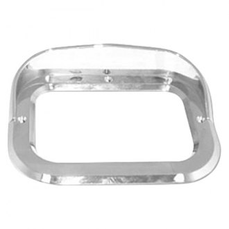 "Kaper II ® - 4"" Square Light Bezel with Visor"