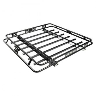 Kargo Master® - Safari Black Steel Roof Rack Basket