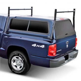 Kargo Master® - Econo Front and Back Black Steel Truck Rack
