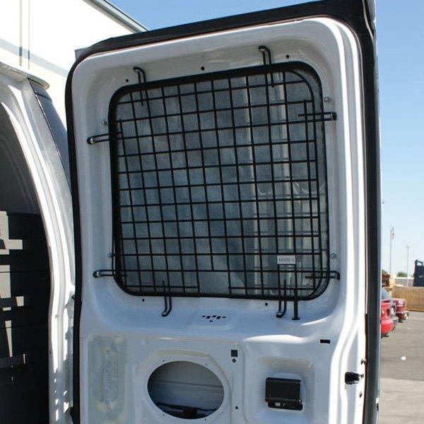 Kargo master 4072c hinged rear door security window screen for Back door with window and screen