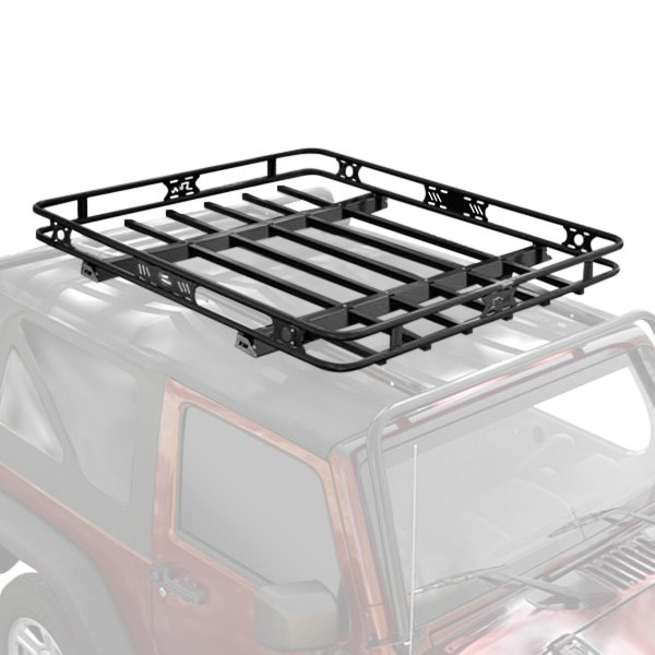 Srm200 48 Off Road Roof Rack Mpn 5924800t additionally Go Rhino SR Roof Rack likewise Smittybilt Defender Roof Rack together with Gobi Gt4r Toyota 4runner Roof Rack together with Garvin Trail Rack Jerry Holder P 70176. on universal roof rack safari