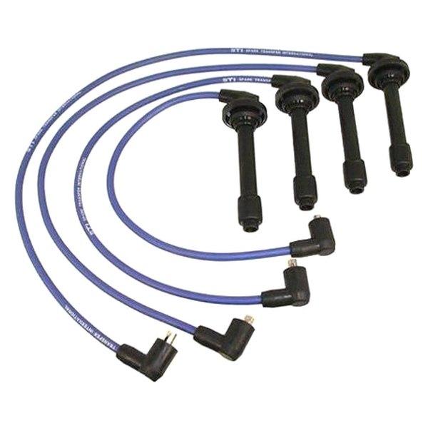karlyn sti u00ae honda civic 1992 1995 spark plug wire set 1995 honda civic dx spark plug wire diagram NGK Spark Plugs