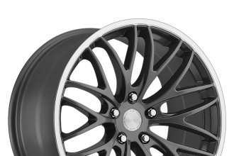 "KATANA® - GTM Gunmetal with Machined Lip (18"" x 7.5"", +45 Offset, 5x100 Bolt Pattern, 73.1mm Hub)"