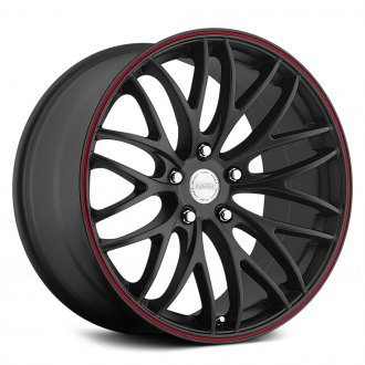 KATANA® - GTM Matte Black with Red Pinstripe