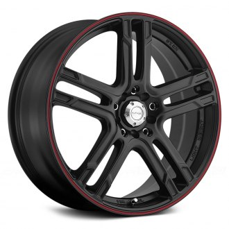 KATANA® - KR10 Matte Black with Red Pinstripe