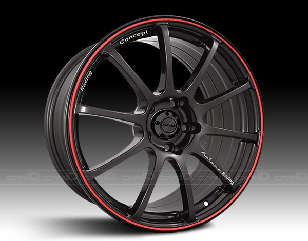 KATANA� - RC10 Black with Red Pinstripe