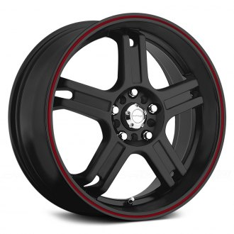KATANA® - RZ5 Matte Black with Red Pinstripe