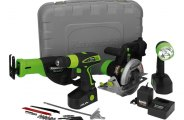 Kawasaki® - 19.2V Cordless 4 pc. Combo Kit