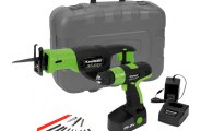Kawasaki® - 19.2V Cordless Drill/Reciprocating Saw Kit
