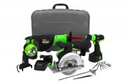 Kawasaki® - 18V Cordless 4 pc. Combo Kit