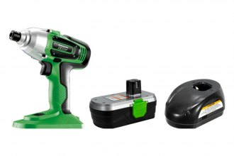 Kawasaki® - 18V Cordless Impact Driver Kit with Bonus Socket Adapter