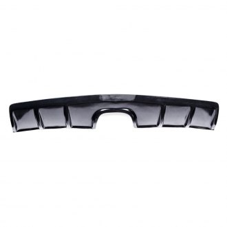 KBD® - Zin Style Center Exhaust Rear Diffuser (Unpainted)