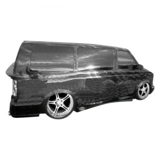 KBD® - Hollywood Style Side Skirts (Unpainted)