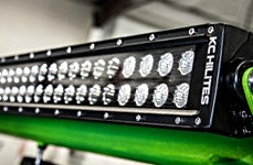KC HiLiTES® - C Series Dual Row Spot Spread Led Light Bar
