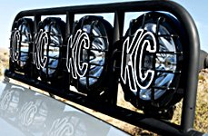 KC HiLiTES® - Lights With Stone Guards