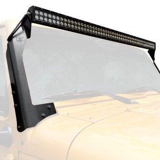 "KC HiLiTES® - Windshield Frame Mounted C-Series 50"" 300W Dual Row Combo Beam LED Light Bar Kit"
