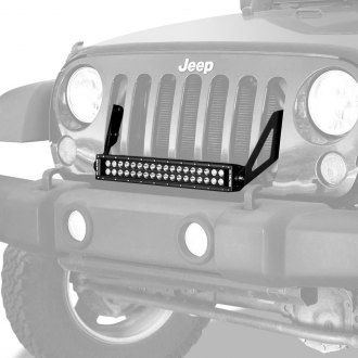 "KC HiLiTES® - Grille Mounted C-Series 20"" 120W Dual Row Combo Spot/Flood Beam LED Light Bar Kit"
