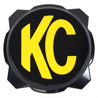 "KC HiLiTES® - 6"" Round Black Plastic Light Cover for Gravity™ Pro6"