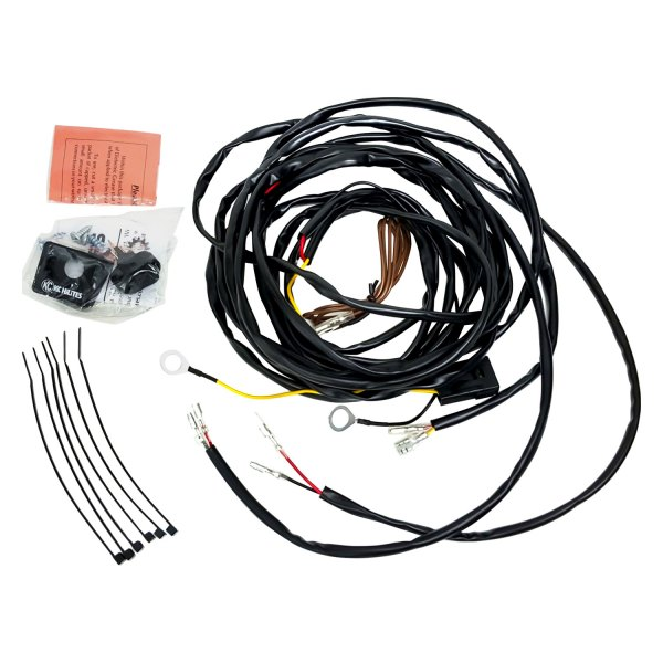 kc 6308 wiring harness kc hilites® 63082 - wiring harness for two cyclone led ...