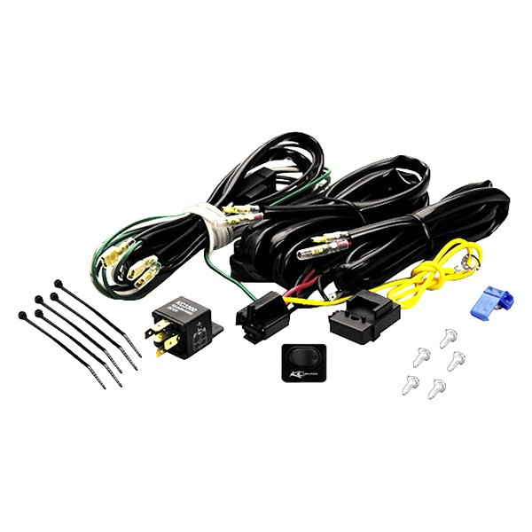 KC HiLiTES® - Wiring Harness with 40 Amp Relay and LED Rocker Switch