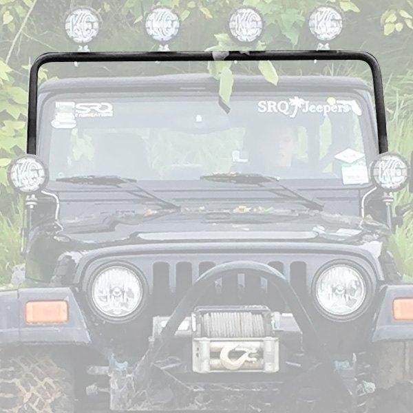 KC HiLiTES® - Jeep Wrangler TJ Body Code 2004 4-Tab Windshield Frame ...